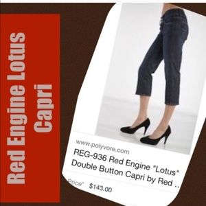 Red Engine Lotus Jeans